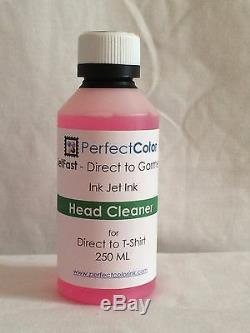 Direct to Garment Complete Ink Set (DTG) 9 Bottles 250 ml ea from Perfect Color