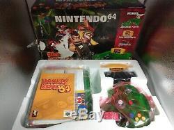 Donkey Kong N64 Color Jungle Complete Set