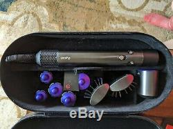 Dyson Airwrap Styler Complete Black and Purple color full set