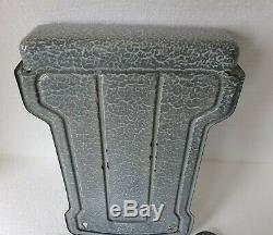 Enamel Spoon Rack Wall Mounted Hammered / Granite Color Scarce Complete Set