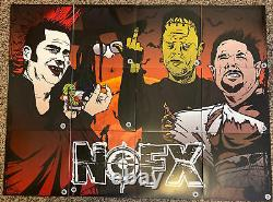 FAT WRECK CHORDS NOFX 7 OF THE MONTH CLUB 2019 Complete Set (12) COLORED VINYL