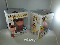 Funko Pop! The Flintstones Dino Funko Shop Color Set COMPLETE LE2500 #406