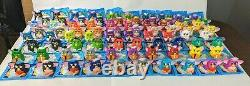 Furby Complete Set All 80 Colors Variations 1998 NOS McDonalds Happy Meal Toy