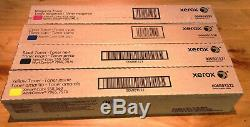Genuine Xerox Toner Color 550 560 570 C60 C70 Complete Set Cmyk