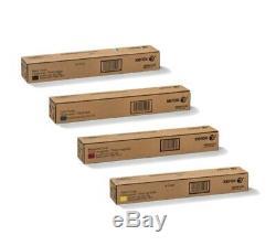 Genuine Xerox Toner For Color 550, 560, 570, C60, C70. Complete Set-cmyk