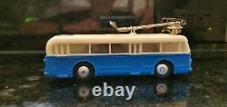 HO Trolley Bus-NEW COMPLETE SET-Aristocraft/Eheim (other colors available)
