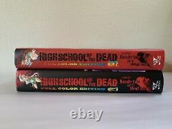 High School of the Dead Complete Set Manga HC Full Color English with Slipcovers