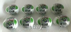 Hot Wheels Mario Kart YOSHI Mystery Egg Complete Set ALL 8 COLORS New And Sealed