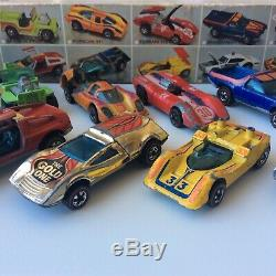 Hot Wheels Redline Flying Colors Double Dare Yr 1 Set 24 Car Box Insert Complete