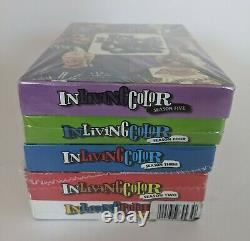 IN LIVING COLOR Seasons 1-5 DVD Sets The Complete Series 1 2 3 4 5 Sealed