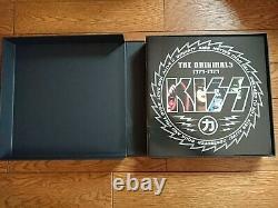KISS The Originals 1974-1979 JAPAN 11 Color LP BOX SET Complete with Stickered OBI