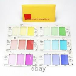Kodak Color Print Viewing Filter Kit Complete Set of 6 Cards with Manual R-25