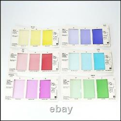 Kodak R-25 Color Print Viewing Kit Complete Set of 6 Cards with Instructions VGC
