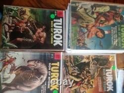 LOT TUROK Ander SON of STONE #3 59 Comics COMPLETE SERIES SET Golden Age RUN