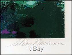 LeRoy Neiman Big Time Golf Suite 4 Color Serigraph Hand Signed Complete Set Art