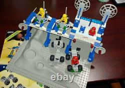 Lego 6930 vintage space supply station COMPLETE 1 missing/replaced color part