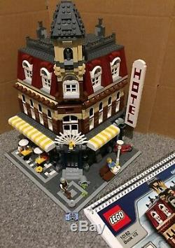 Lego Creator Expert 10182 Cafe Corner Complete Except 1 Colour Substitution B