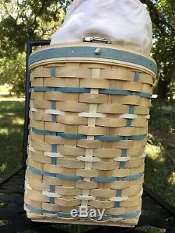 Longaberger 2006 Hostess Only Coastal Tote Complete Set Vibrant Colors