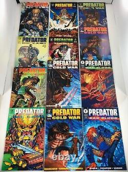 Lot Of 36 Predator Comics 9 Complete Minis + 1 Shots Dark Horse 1990-2015