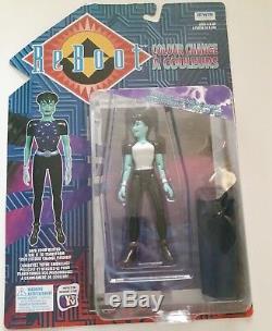 Lot of 7 1996 Reboot Colour change Action Figures-Vintage-Complete Set of 7