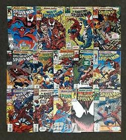 MAXIMUM CARNAGE 1-14 Complete Set NM+ Marvel Comics 1993 Spider-Man Venom