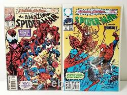 Marvel Comics Maximum Carnage Issues #1 14 Complete Set 1993 Direct Edition
