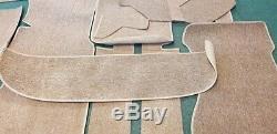 Mercedes Benz W114 W115 Sedan Complete Loop Carpet Set 13 pieces BEIGE color