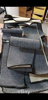 Mercedes Benz W114 W115 Sedan Complete Loop Carpet Set 13 pieces Cream color