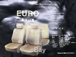 Mercedes Benz W126-W116-W123-W114 Complete Set Seats Cover Velvet Brown Color