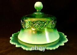 Museum Quality! Emerald Diamond Spearhead Complete Table Set