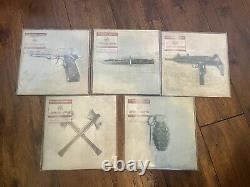 My Chemical Romance Conventional Weapons Complete Set 5 X 7 Colored Vinyl