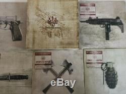 My Chemical Romance Conventional Weapons Complete Set of 5 Color Vinyl Opened