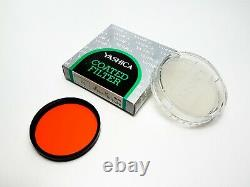 + NEW BOXED UNUSED + Yashica 46mm Coated Filter Complete Vintage Set B&W Colour