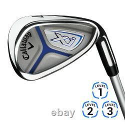 NEW Callaway Junior XJ3 Complete Golf Set Choose Color & Dexterity