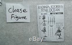 NEW Radiata Stories Star Ocean Trading Arts COMPLETE FULL COLOR 6+Secret fig set