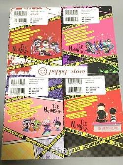 Nanbaka Vol. 1-8 Japanese language Comics complete Full Set Manga Book comico