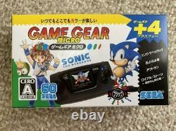 New Game Gear Micro 4-color complete set with bonus big window micro