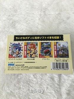 New SEGA Game Gear Micro 4-color complete set console + Big window micro Japan