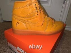 Nike Air Jordan 1 Retro High OG Gatorade Orange Peel Complete Set DS