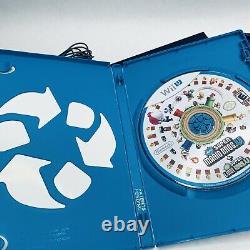 Nintendo Wii U 32GB Black Console Deluxe Set with Mario Bros U Complete in Box