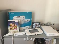 Nintendo Wii U Basic Set 8GB Complete In Box 6 Game Wii Mote/Serial Number Match