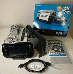 Nintendo wii u 32gb console deluxe set GOOD CONDITION COMPLETE