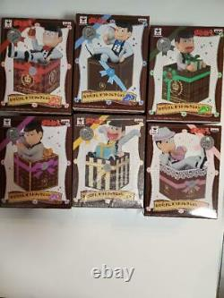 Osomatsu san Gift Collection Figure Complete Set of 6 White Color version WithBox
