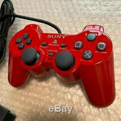PS2 European Automobile Color Super Red Complete Set (Japanese PS2 rare)