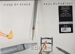 Paul McCartney Limited Edition Colored Vinyl 12 Lp's Complete Set Beatles Wings