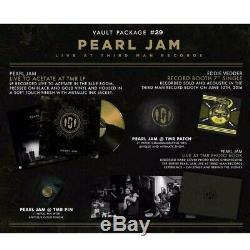 Pearl Jam Third Man Records Tmr Vault 29 Complete Set Colored Vinyl
