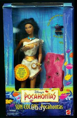 Pocahontas Doll John Smith Kocoum Nakoma Sun Colors Disney Lot 4
