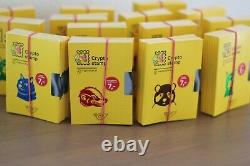 RARE Austrian Crypto Stamp 2.0 10 complete Sets 40 UNOPENED COLORS UNKNOWN
