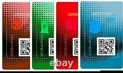 RARE Austrian Crypto Stamp 2.0 40 complete Sets, 160 UNOPENED COLORS UNKNOWN