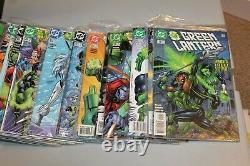 RARE Complete Set Green Lantern 0 1-181 + Annuals 1990 48 1st App Kyle Rayner